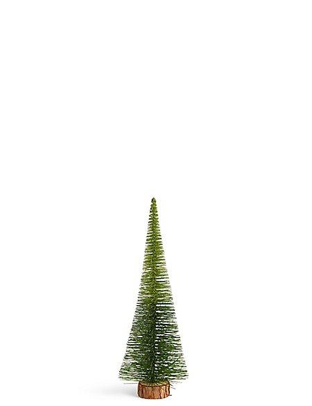 Medium Green Ombre Bristle Tree