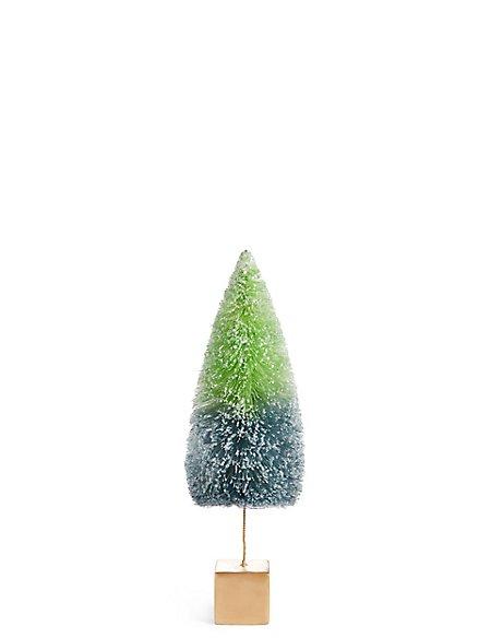 Medium Bright Green Bristle Tree
