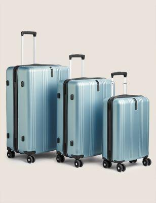 Lisbon - Lot de 3 valises rigides - Blue