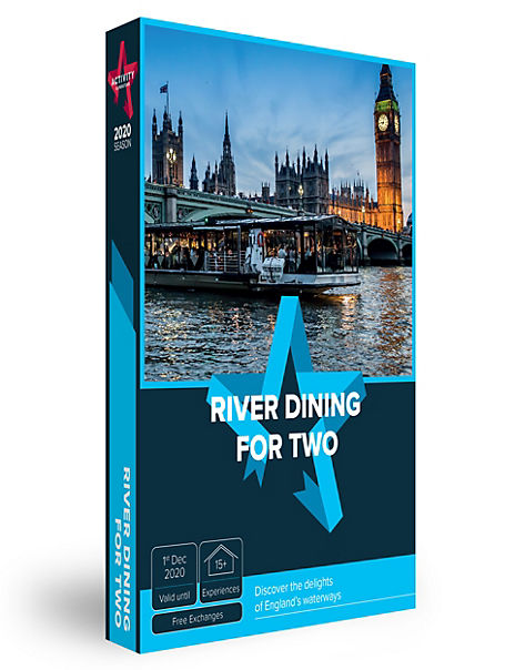 River Dining for Two - Gift Experience Voucher