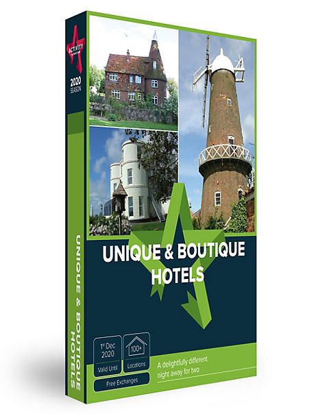 Unique and Boutique Hotel Stay - Gift Experience Voucher