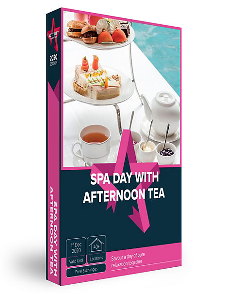 Spa Day and Afternoon Tea - Gift Experience Voucher