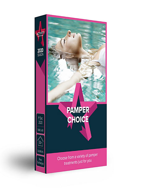 Pamper Choice - Gift Experience Voucher