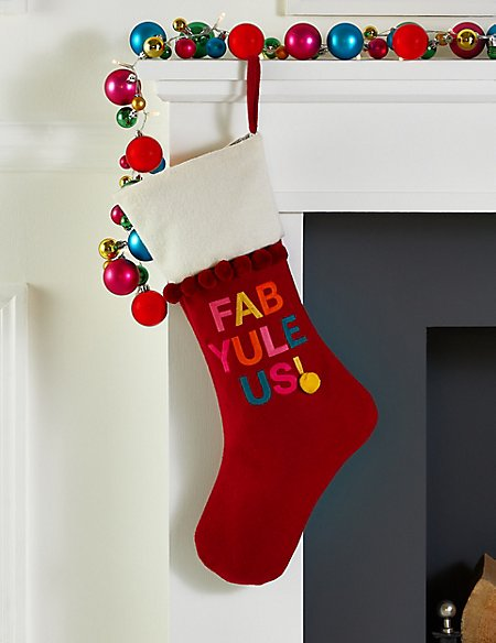 Fab-Yule-Us Stocking