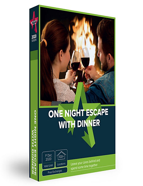 One Night Escape with Dinner - Gift Experience Voucher