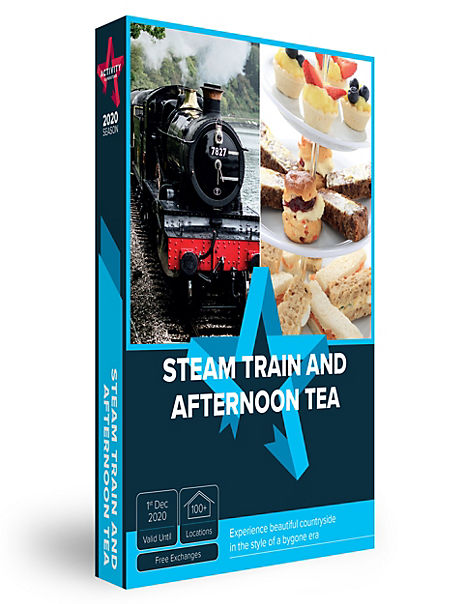 Steam Train and Afternoon Tea - Gift Experience Voucher