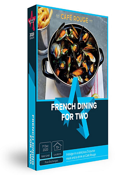French Dining - Gift Experience Voucher