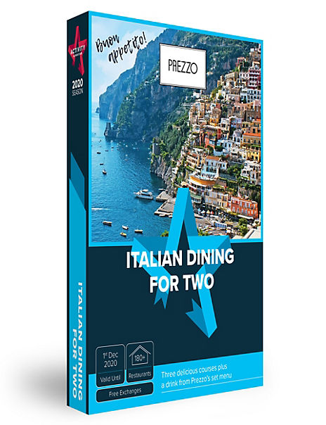 Italian Dining - Gift Experience Voucher
