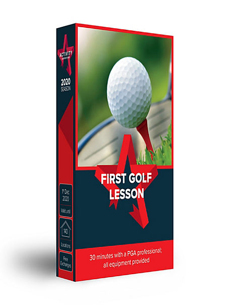 First Golf Lesson - Gift Experience Voucher