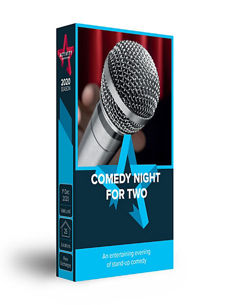 Comedy Night for Two - Gift Experience Voucher