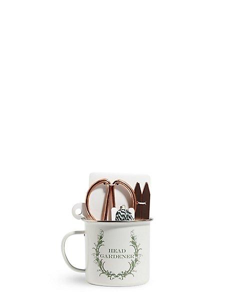 Copper Gardener's Mug Gift Set