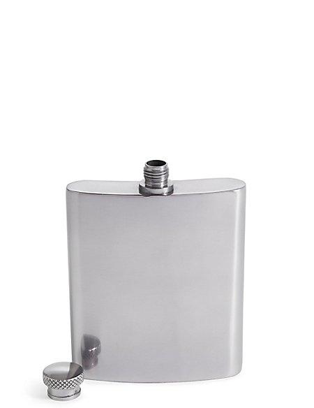 Gun Metal Hip Flask