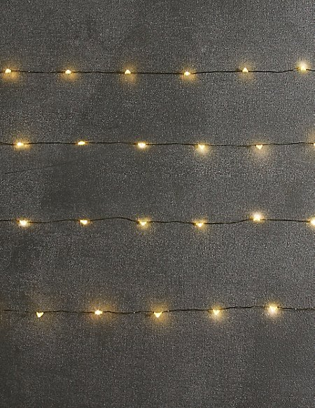 80 Silver LED Wire Lights