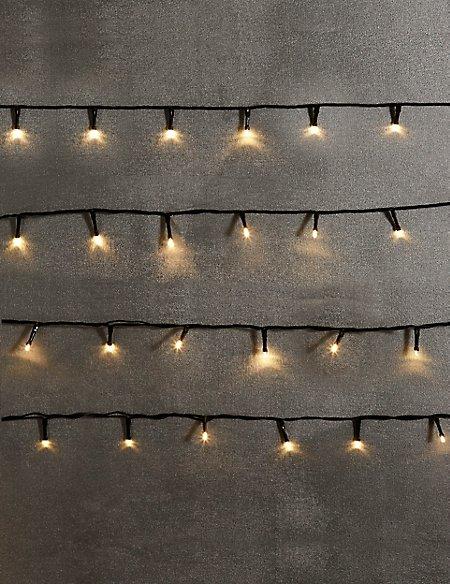 100 Warm White LED Multifunction Lights