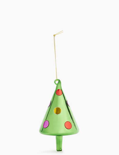 Spotty Tree Hanging Decoration