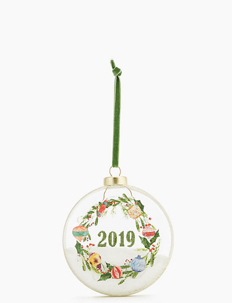 Glass 2019 Bauble