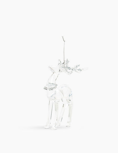 Sparkle Stag Decoration