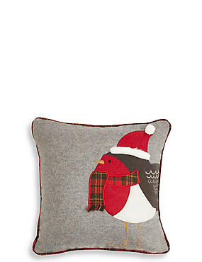 Applique Robin Cushion