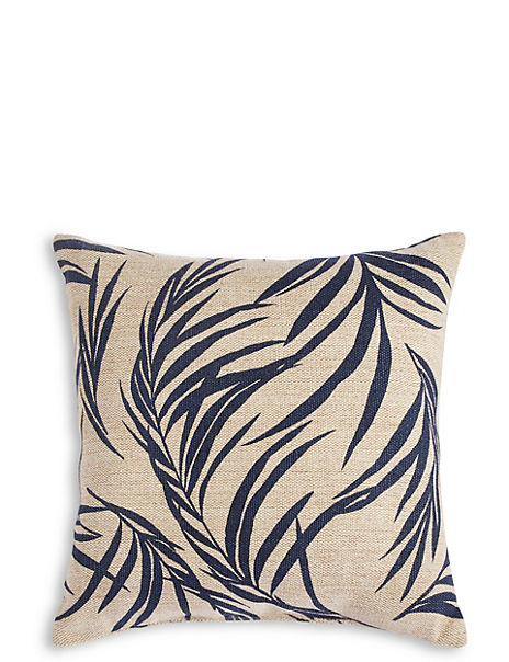 Jute Palm Outdoor Cushion