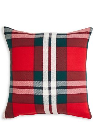 Oversized Check Cushion 15 00