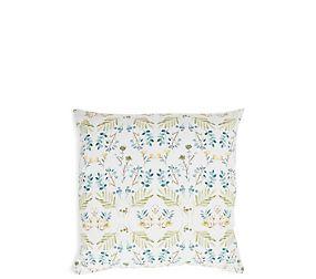 Painterly Floral Print Cushion