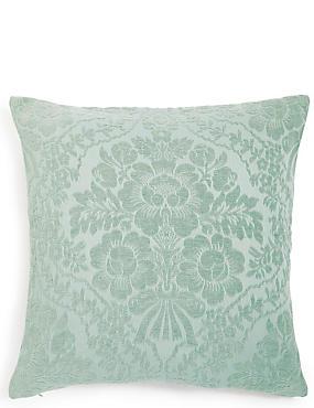 Chenille Damask Cushion