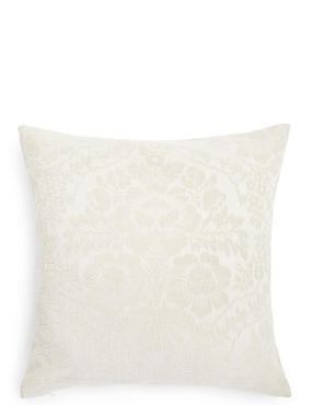Chenille Damask Cushion