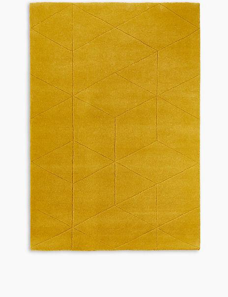 Simple Carved Rug