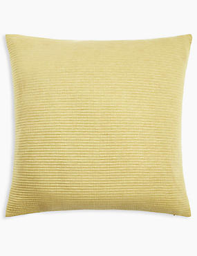 Ribbed Jersey Cushion