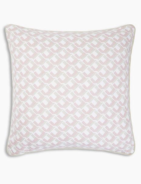 Summer Geometric Cushion
