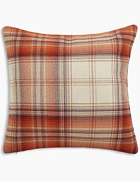 Cosy Checked Cushion