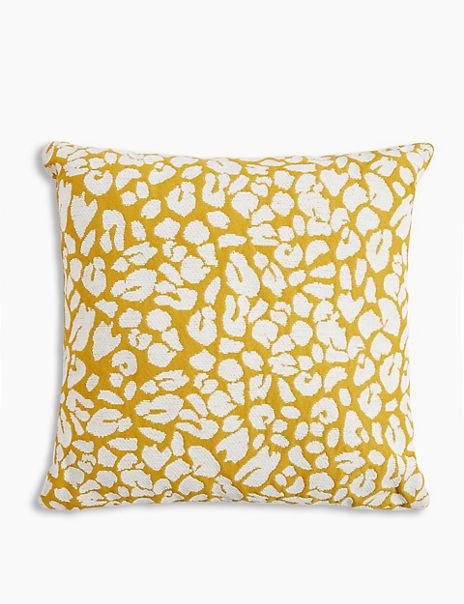 Leopard Jaquard Cushion
