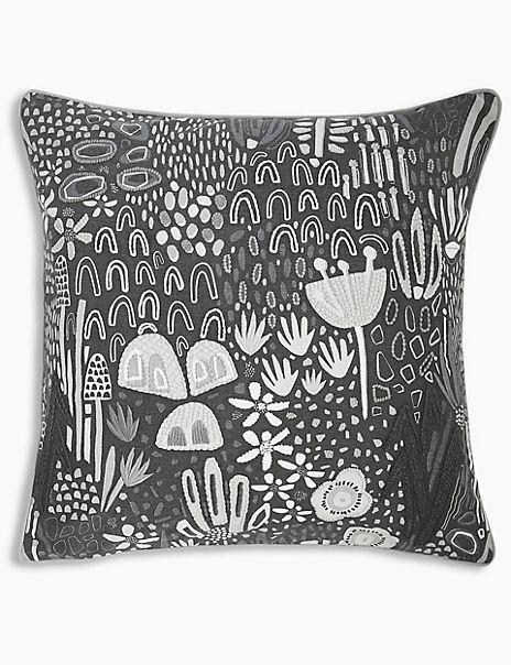 Ava Embroidered Cushion