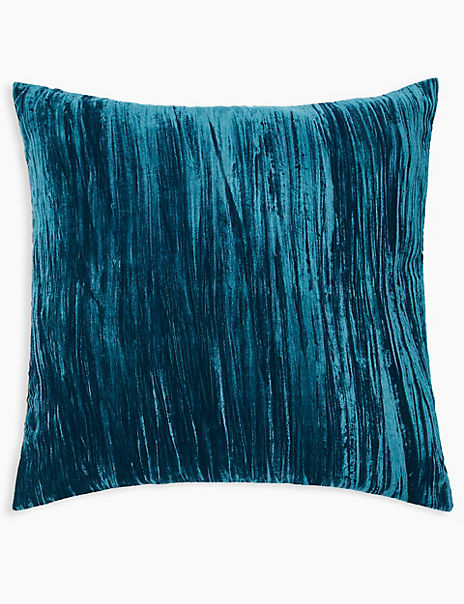Textured Velvet Cushion