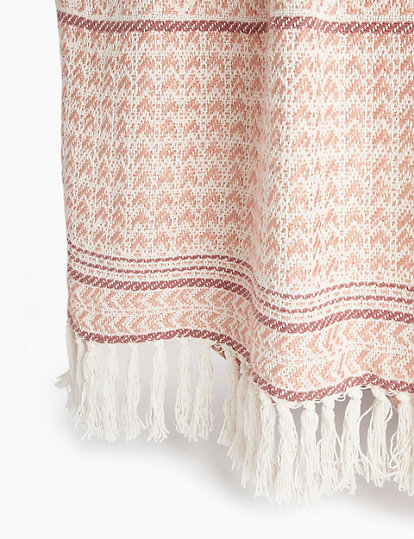 Aubrey Patterned Throw Throws Marks
