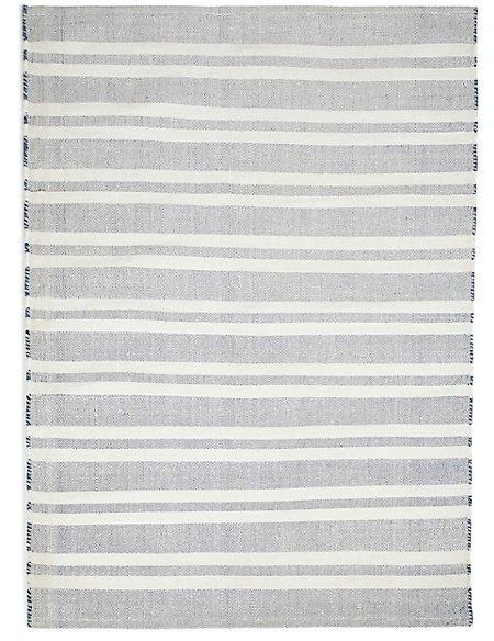 Striped Indoor & Outdoor Rug