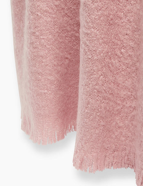 Faux Mohair Throw