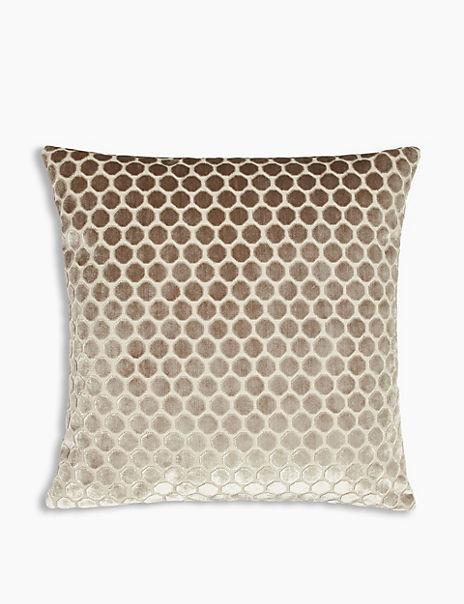 Velvet Hexagonal Cushion