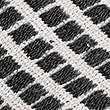 Square Stitch Throw, BLACK MIX, swatch