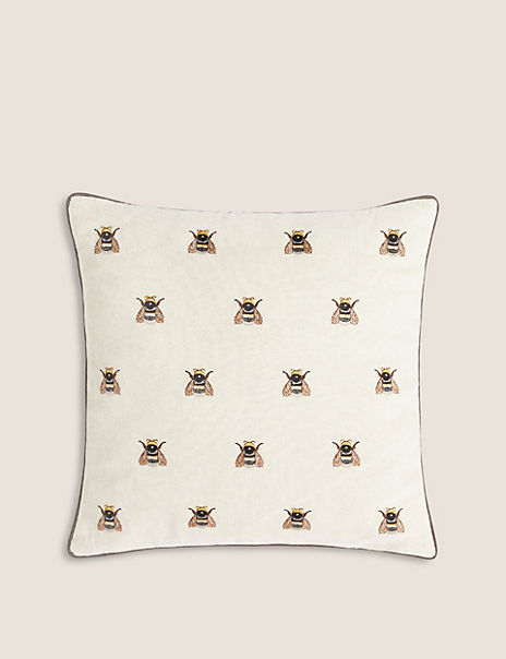 Medium Repeat Bee Cushion