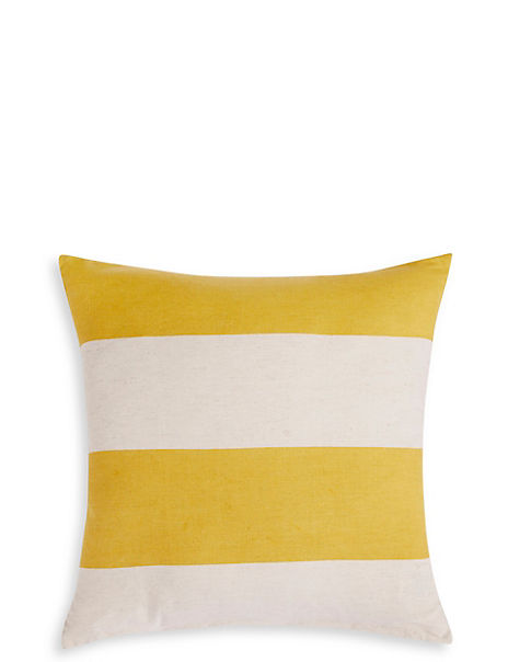 Block Striped Cushion