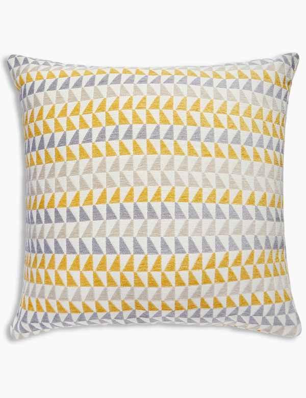 Triangle Chenille Cushion 0fc1653de