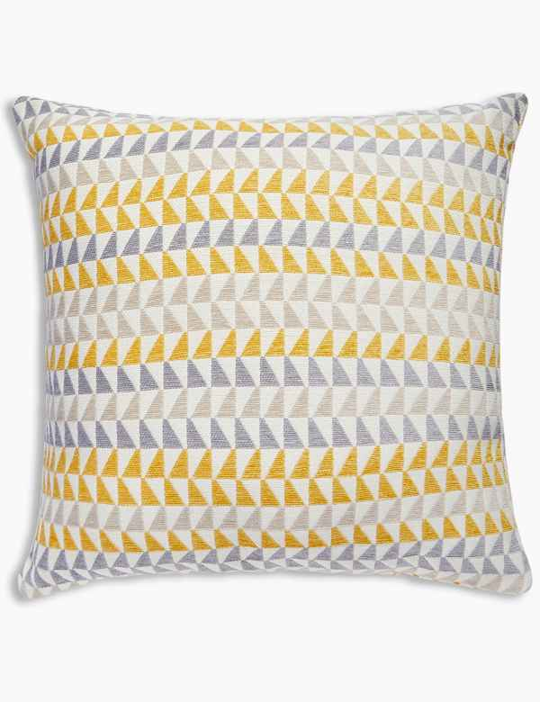 Triangle Chenille Cushion 4fdab53fd