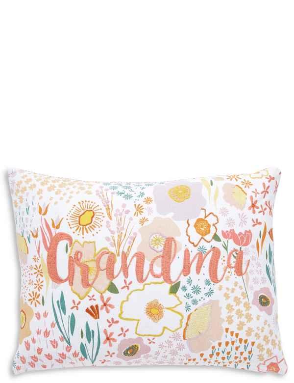 Floral Grandma Cushion