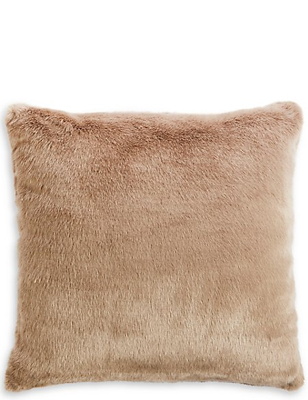 Oversized Faux Fur Cushion