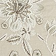 Ornamental Floral Embroidered Cushion, NEUTRAL, swatch