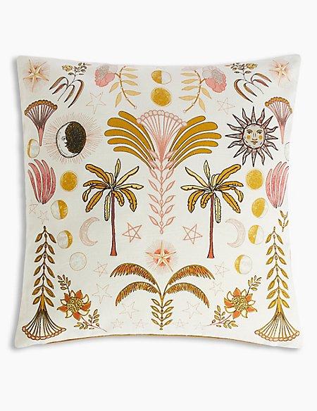 Luna Print & Stitch Cushion