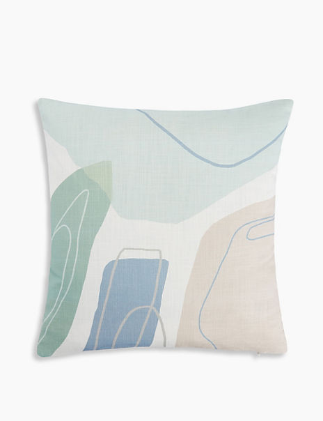 Abstract Print Cushion Cover