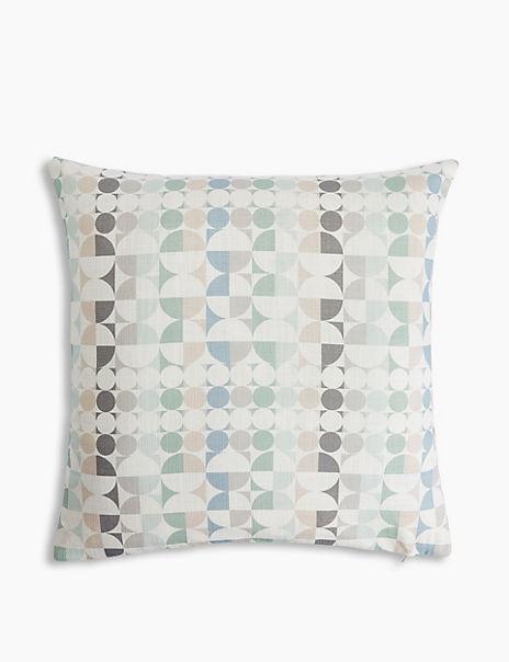 Circle Print Cushion Cover