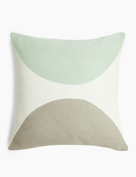 Crescent Design Cushion